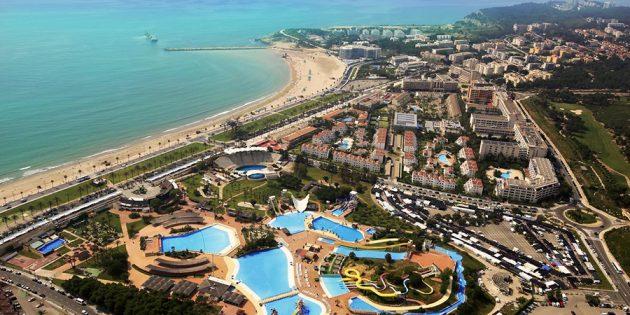 Отели для отдыха с детьми: Отель Estival, Ла Пинеда, Коста Дорада, Испания