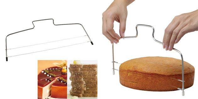 струна для разрезания коржей