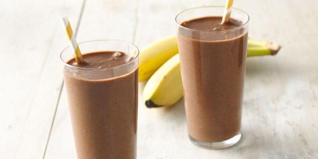 Протеиновые коктейли в домашних условиях: Шоколадный протеиновый коктейль
