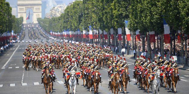 Отдых в июле: Париж, Франция