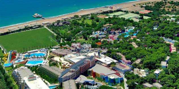 Отели для отдыха с детьми: Blue Waters Club&Resort 5*, Сиде, Турция