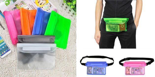 Пляжные сумки: водонепроницаемая сумка