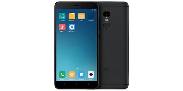 Бюджетные смартфоны: Xiaomi Redmi Note 4X
