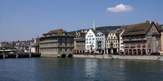 Рейтинг городов по уровню жизни: Цюрих