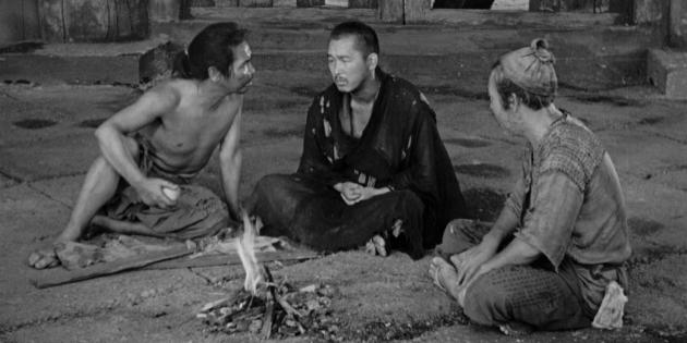 Чёрно-белые фильмы: Расёмон