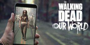 На iOS и Android вышла The Walking Dead: Our World — как Pokémon Go, только с зомби