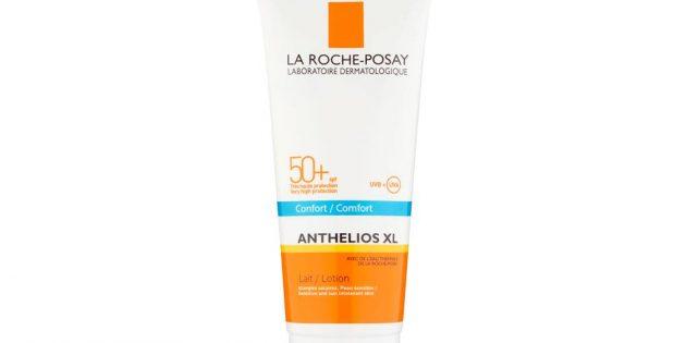 Уход за татуировкой: крем La Roche-Posay Anthelios Body Lotion SPF50+