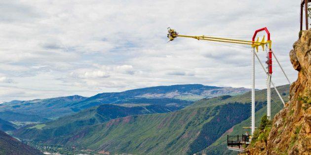 Страшные аттракционы: «Гигантский каньон»
