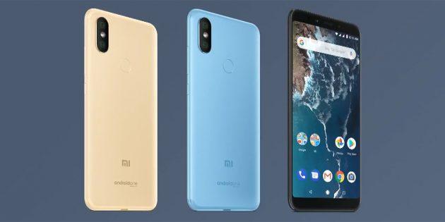 Xiaomi Mi A2 и Mi A2 Lite на чистом Android анонсированы официально