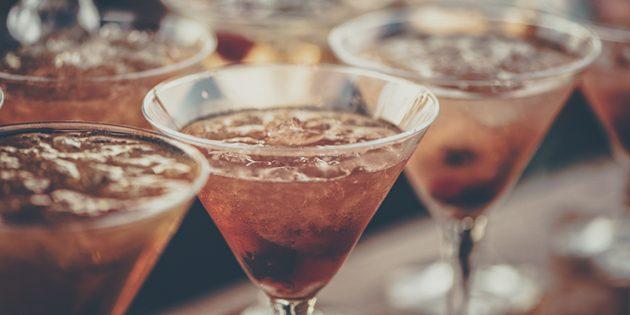 Классические алкогольные коктейли: Манхэттен