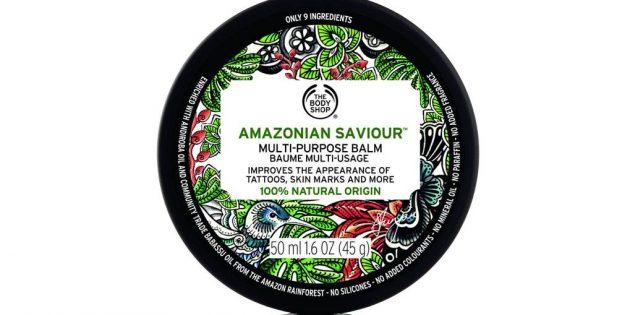 Уход за татуировкой: бальзам The Body Shop Amazonian Saviour