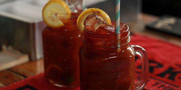 Классические алкогольные коктейли: Кровавая Мэри