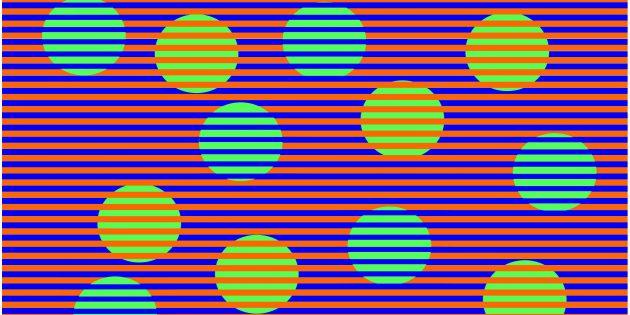 Оптическая иллюзия Манкера-Уайта