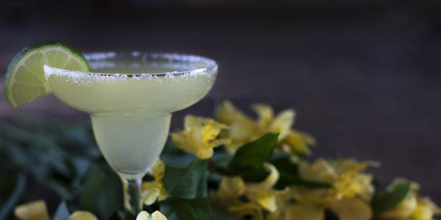 Классические алкогольные коктейли: Маргарита