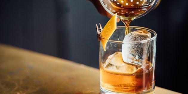 Классические алкогольные коктейли: Олд фешен