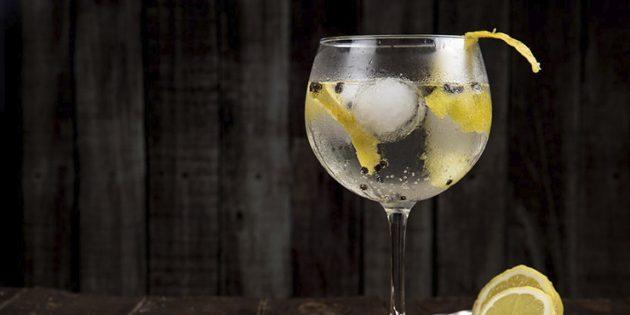 Классические алкогольные коктейли: Джин-тоник