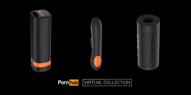 Штука дня: набор интерактивных игрушек от Pornhub