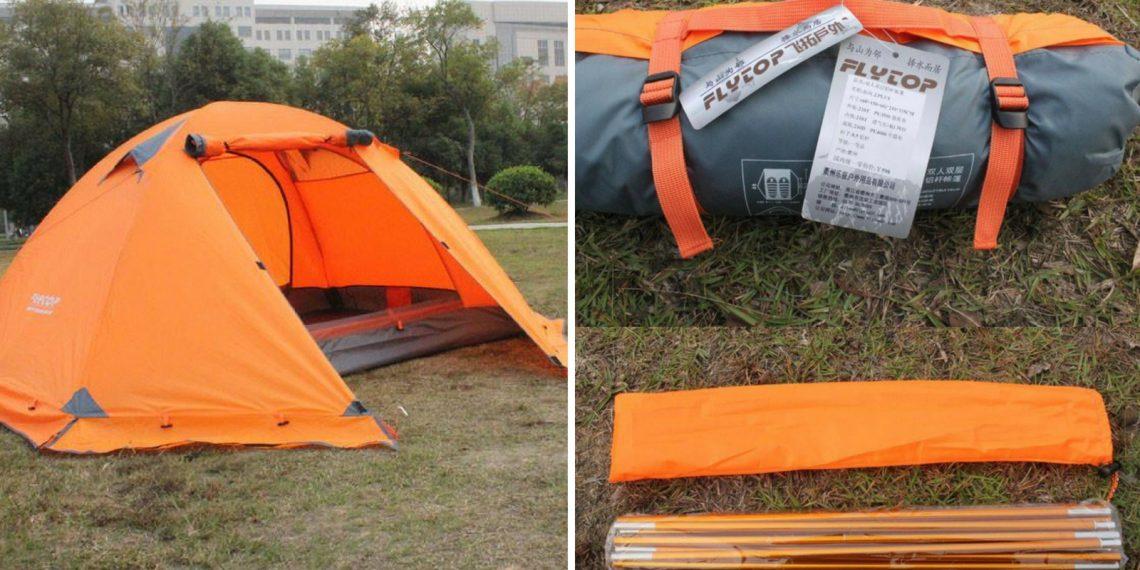 Что брать в поход. Палатка