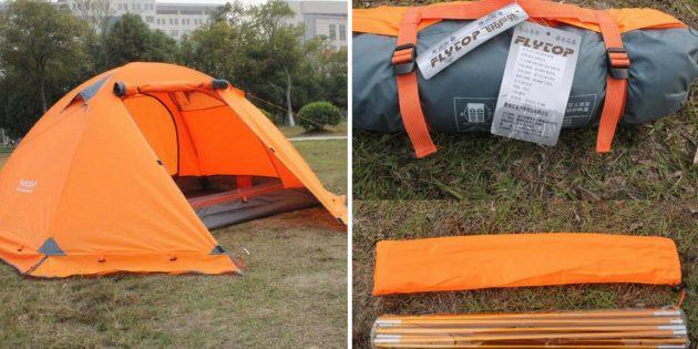 Что брать в поход: палатка