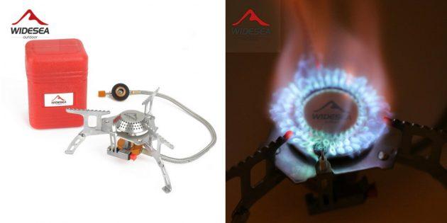 Что брать в поход: газовая горелка