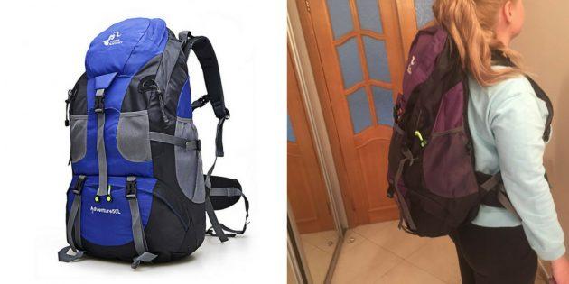 Что брать в поход: туристический рюкзак