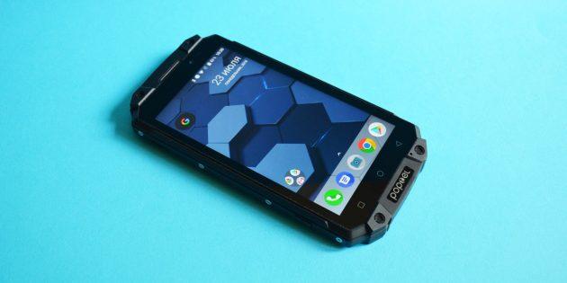 Защищенный смартфон Poptel P9000 Max: Внешний вид