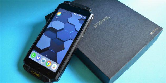 Защищенный смартфон Poptel P9000 Max: Коробка