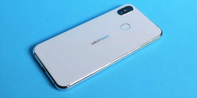 Обзор смартфона Ulefone X: Задняя крышка