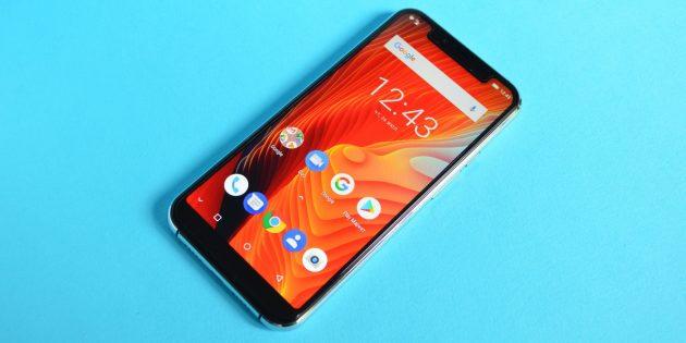 Обзор смартфона Ulefone X: Лицевая сторона