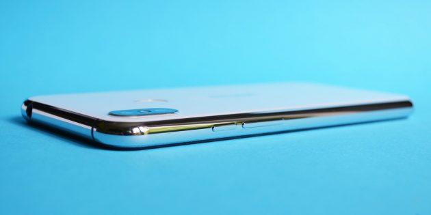 Обзор смартфона Ulefone X: Боковая грань