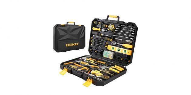 Набор инструментов Deko TZ168