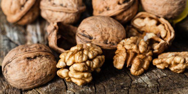 Еда для мозга. Грецкие орехи
