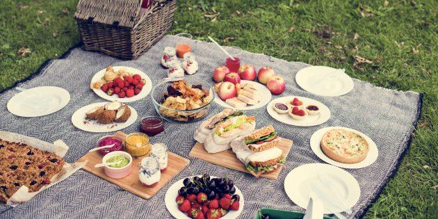 Что взять на пикник: еда