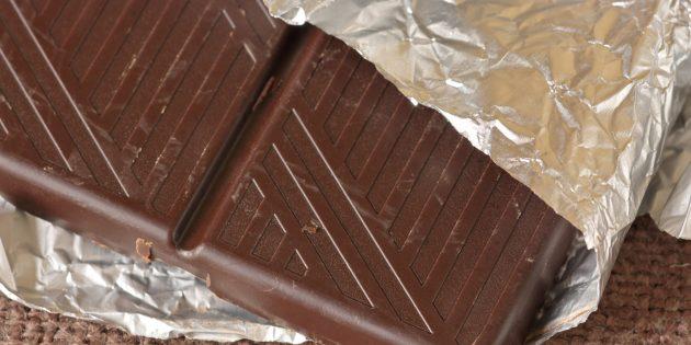 Еда для мозга. Тёмный шоколад