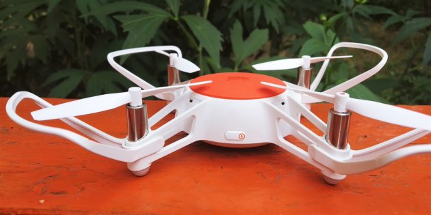 MiTu Mini RC Drone. Вид сбоку