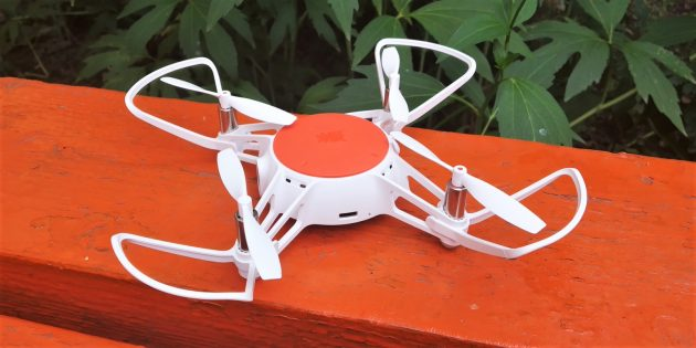 MiTu Mini RC Drone. Вид сверху