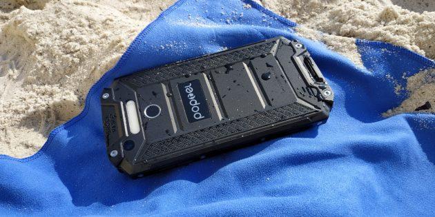 Защищенный смартфон Poptel P9000 Max: Просушка