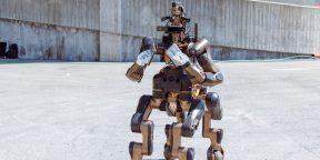 Видео дня: демонстрация робота-кентавра для спасательных операций