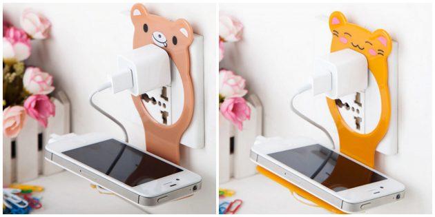 100крутых вещей дешевле 100рублей: подставка для зарядки смартфона