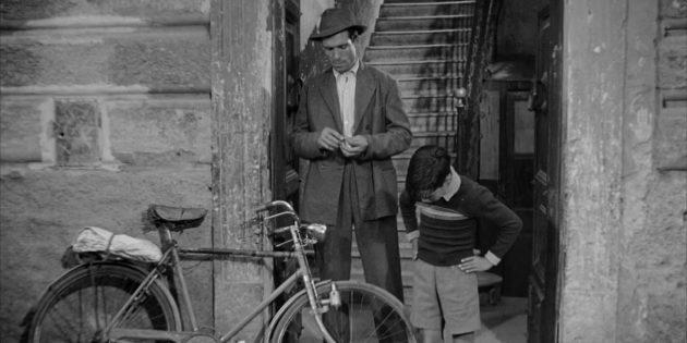 Чёрно-белые фильмы: Похитители велосипедов
