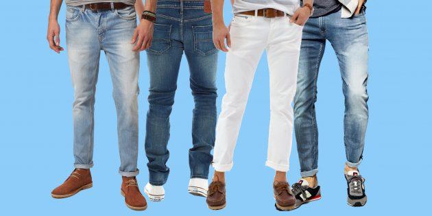 Самые модные мужские джинсы 2018 года: 7 вариантов на каждый день