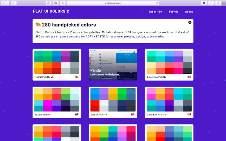 Как сделать презентацию: Сайт по подбору цвета