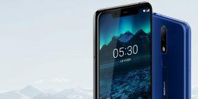 Представлен недорогой Nokia X5 с «чёлкой» и разблокировкой по лицу