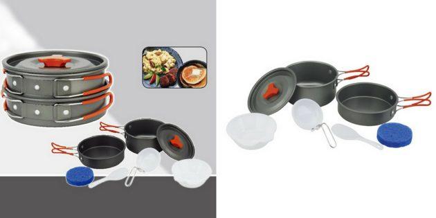 Что брать в поход: набор посуды