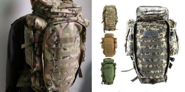 Что брать в поход: тактический рюкзак