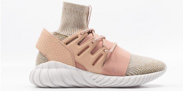 Новые кроссовки: Adidas Tubular Doom Primeknit Pink