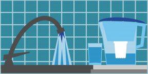 Как понять, насколько чистую воду вы пьёте дома