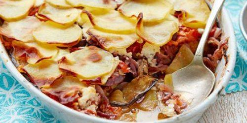 Баклажаны в духовке. Запечённые баклажаны с картофелем и козьим сыром