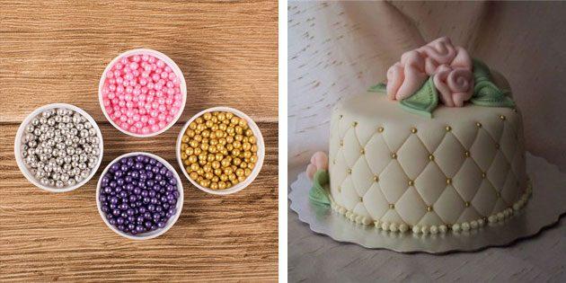 Бусины для торта