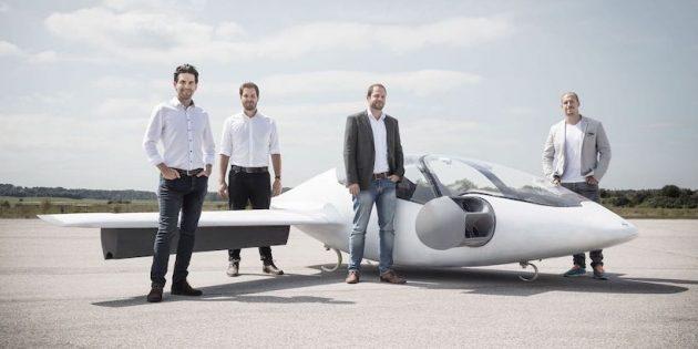 Летающий автомобиль Lilium Jet